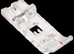 Оверлочная лапка стандартная прозрачная для Bernette Funlock 42 и 48