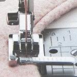 Лапка для шв. маш. F035N с линейкой