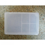 Шкатулка пластик 10.3*6.75*3 см