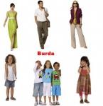 Выкройки Burda в ассортименте