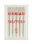 Иглы Organ стандартные №90, 5 шт.