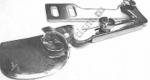 """Приспособление """"подгиб """" на прямострочные машины KHF-9"""