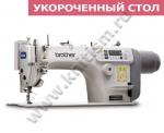Прямострочная швейная машина Brother S-7000DD-403 с прямым приводом и электронными функциями и укороченным столом