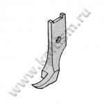 Лапка внешняя однорожковая правая для молний 151564-0-01