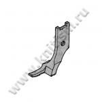 Лапка внешняя левая однорожковая для молний 151566-0-01