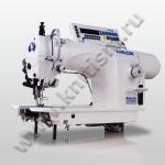 Прямострочная промышленная швейная машина с шагающей лапкой JK-6380D JACK (прямой привод)